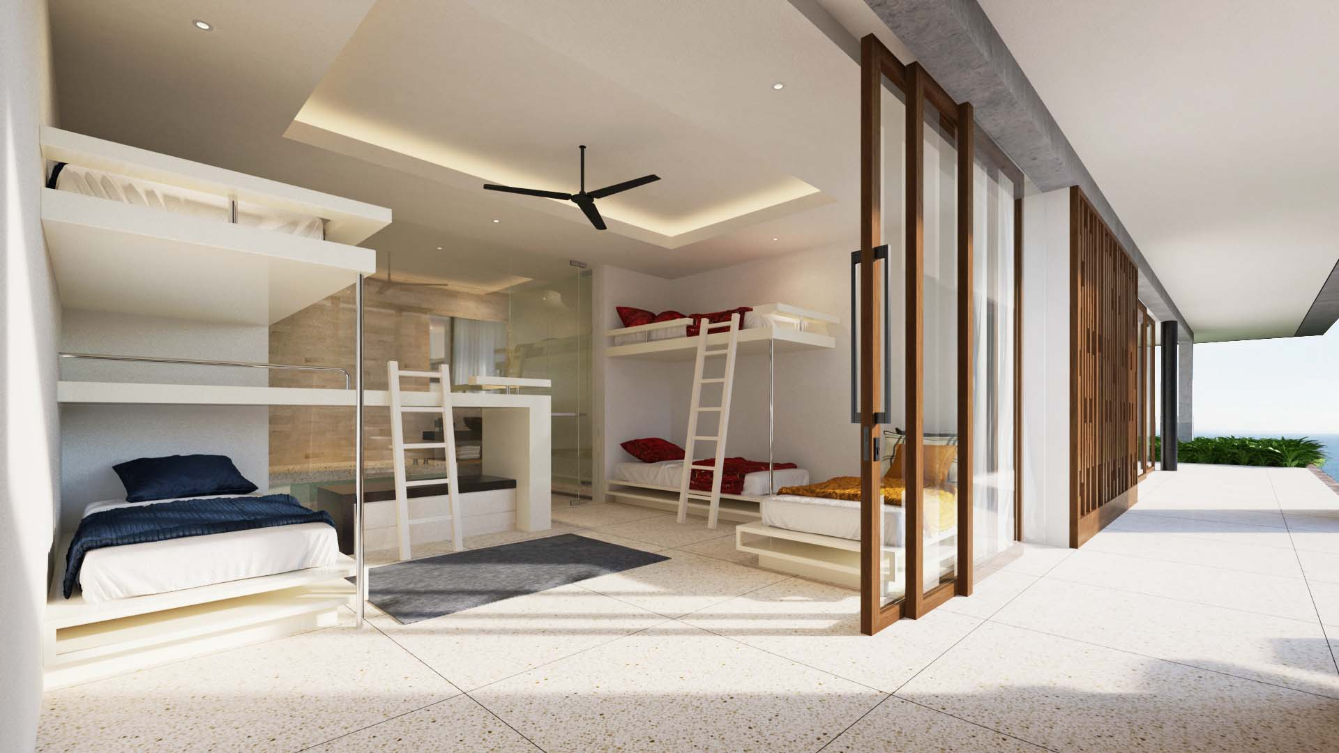 Projects Photo/2 Villas in Sri Lanka, Thangalla/bunk-bed