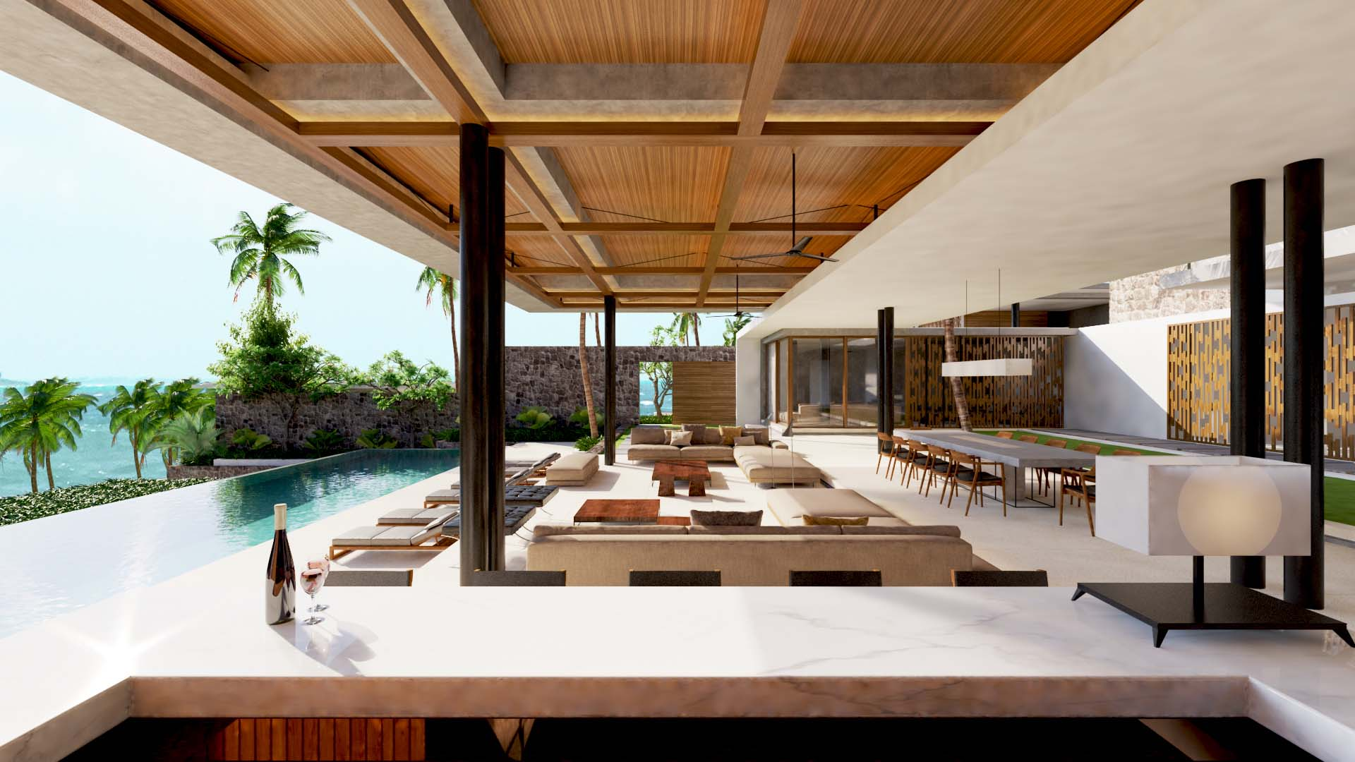 Projects Photo/2 Villas in Sri Lanka, Thangalla/thangalla-living-dining