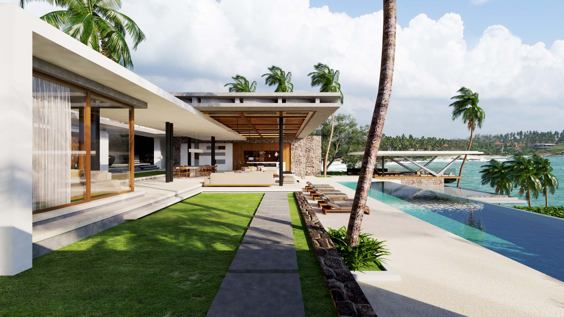 Projects Photo/2 Villas in Sri Lanka, Thangalla/thangalla-pool-side