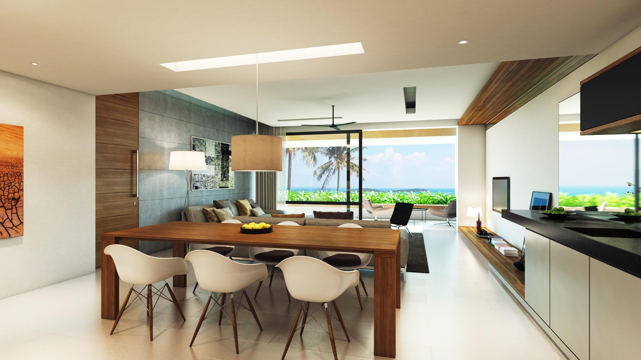 Projects Photo/Aqua Condo Samui/2-bed-type-view2