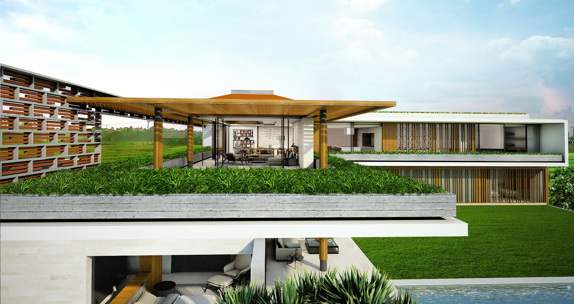 Projects Photo/M&D Villa/bird-view