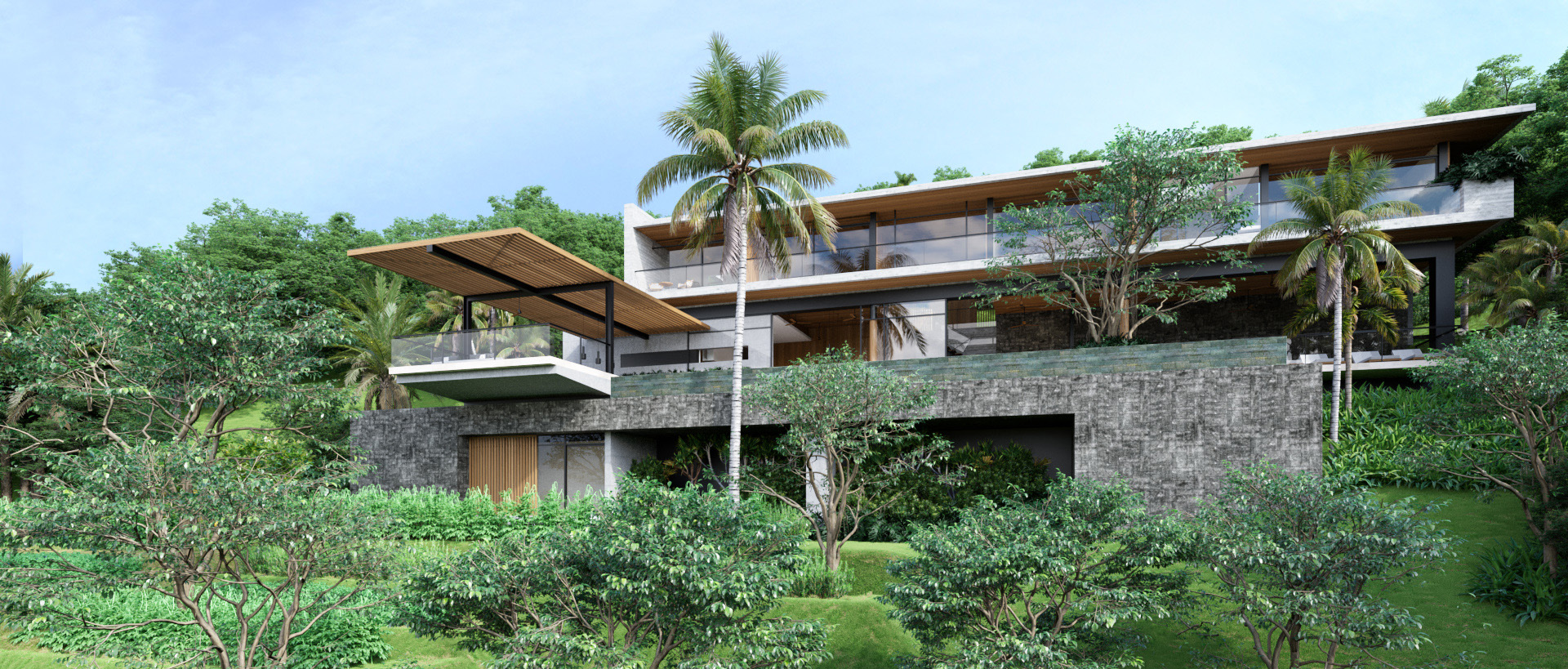 Projects Photo/Tampah Hills - TH55 (Villa W&T)/1-perspective-1