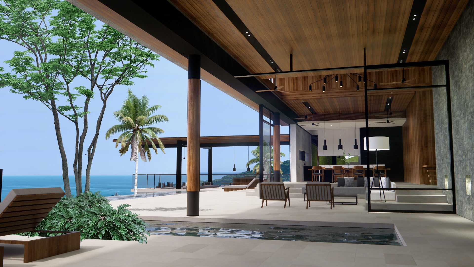 Projects Photo/Tampah Hills - TH55 (Villa W&T)/7-pool-deck