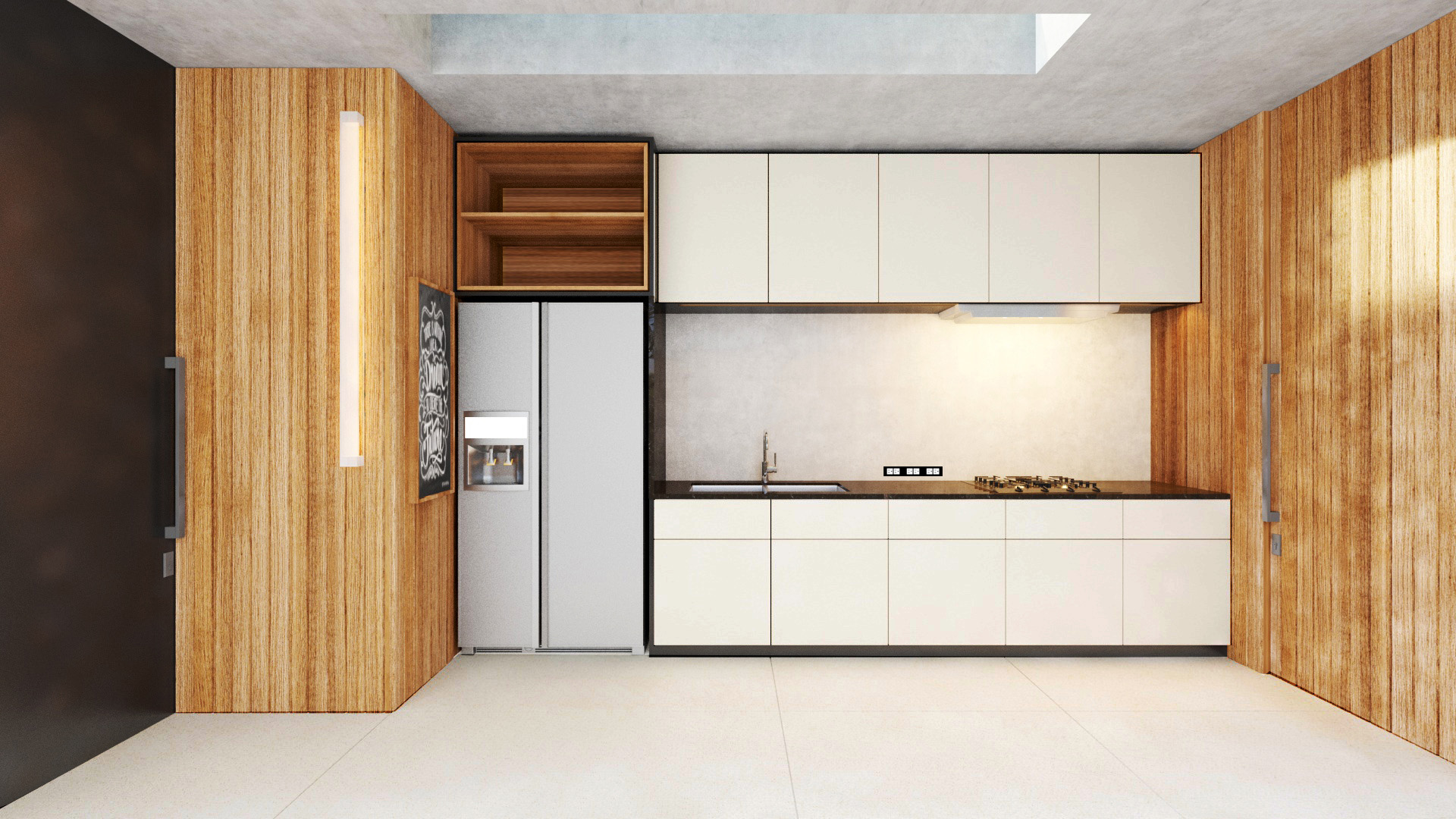 Projects Photo/Villa in Cheong Mon (Arno's)/maids-kitchen-elevation