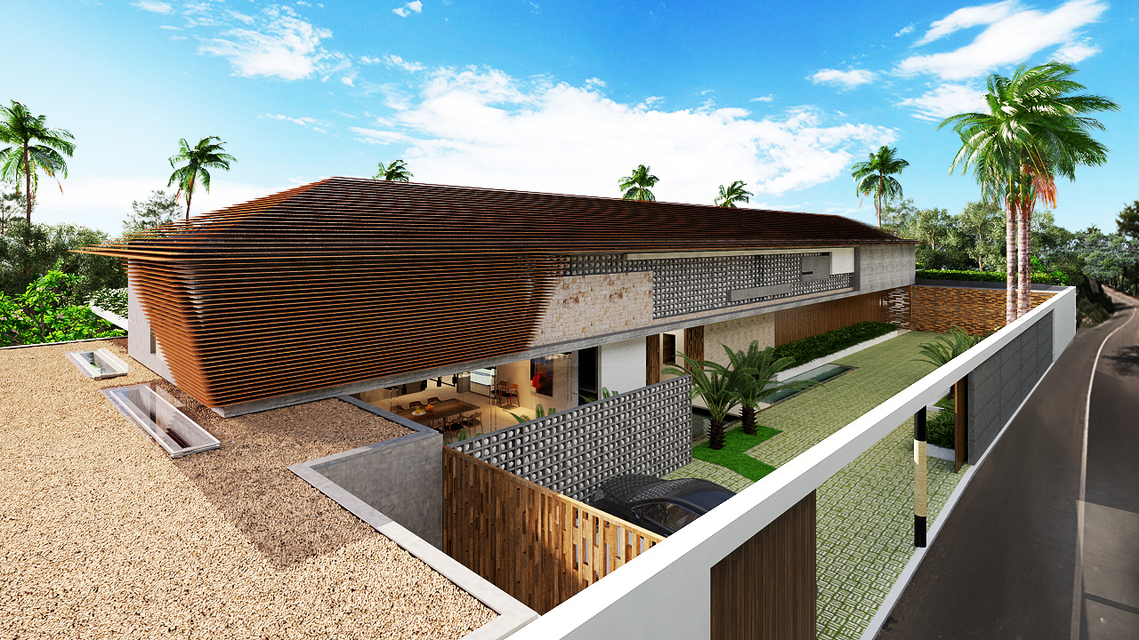 Projects Photo/Villa in Nusadua - Elsaputra/07.-3d-perspective-01.-exterior-facade