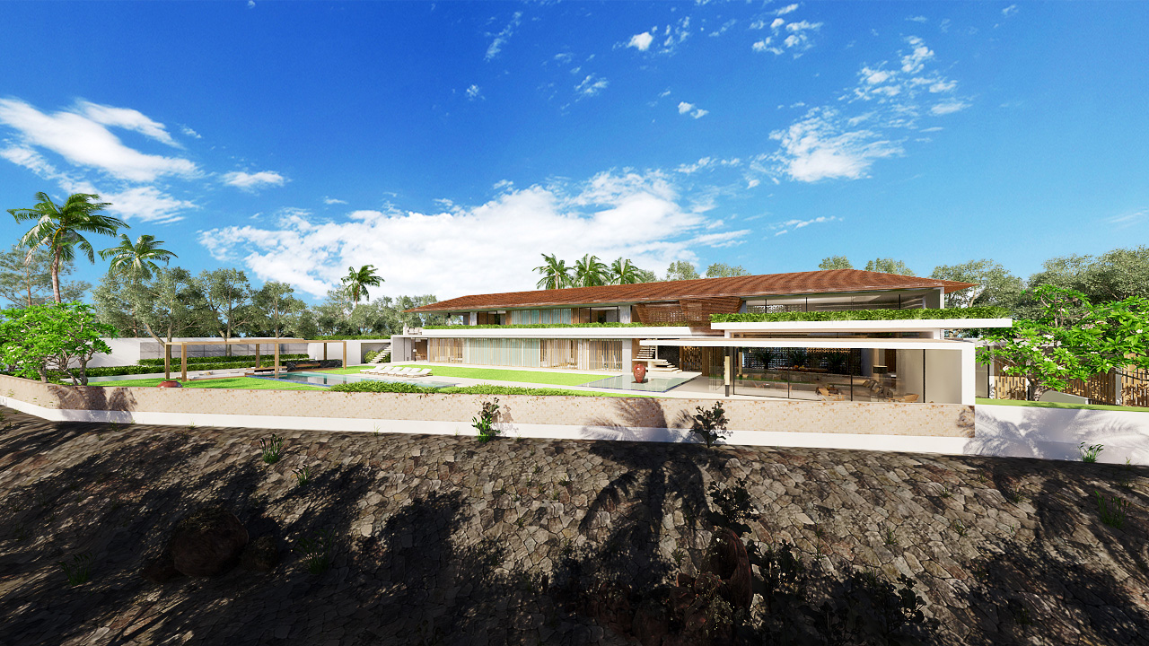 Projects Photo/Villa in Nusadua - Elsaputra/09.-3d-perspective-03.-exterior-backyard